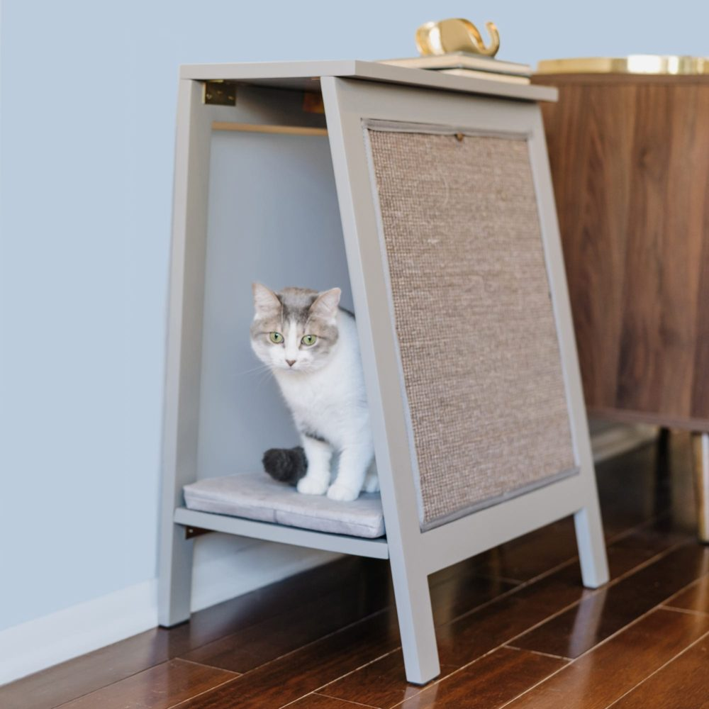 Fancy A Frame Cat Beds