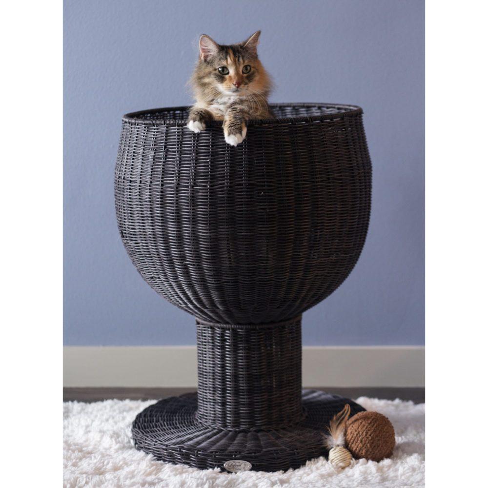 Raised Kitty Ball Cat Bed