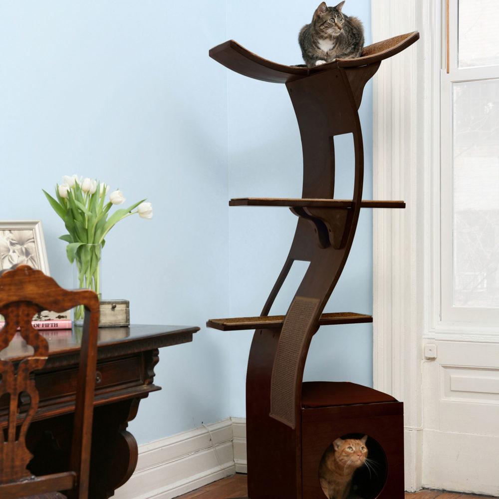 Lotus Espresso cat tower