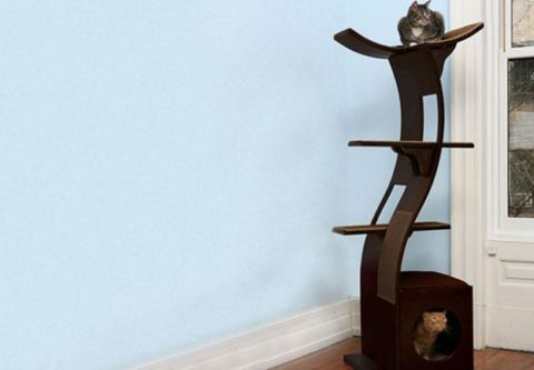 Modern Cat Trees, Towers & Condos