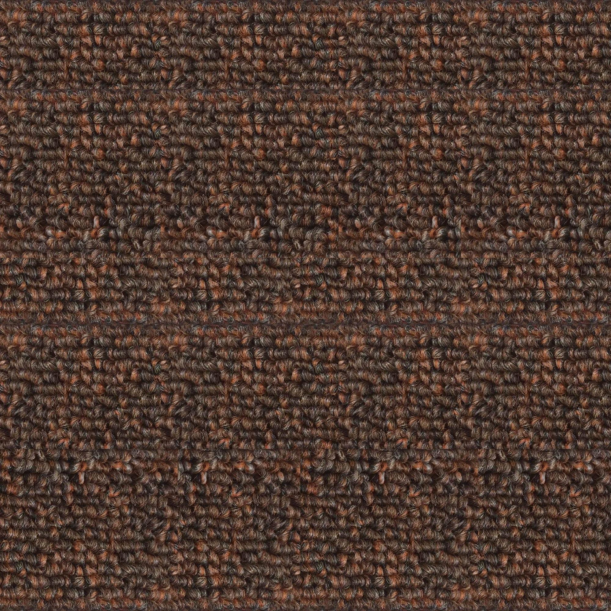 Lotus Leaf Carpet/Faux Fur - Brown
