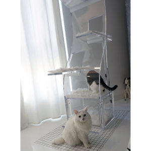 Customer Modern Luxury Lotus cat tower