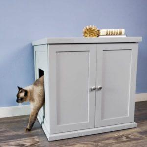 Refined Cat Litter Box Smoke