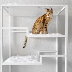 Metropolitan Cat Condo White