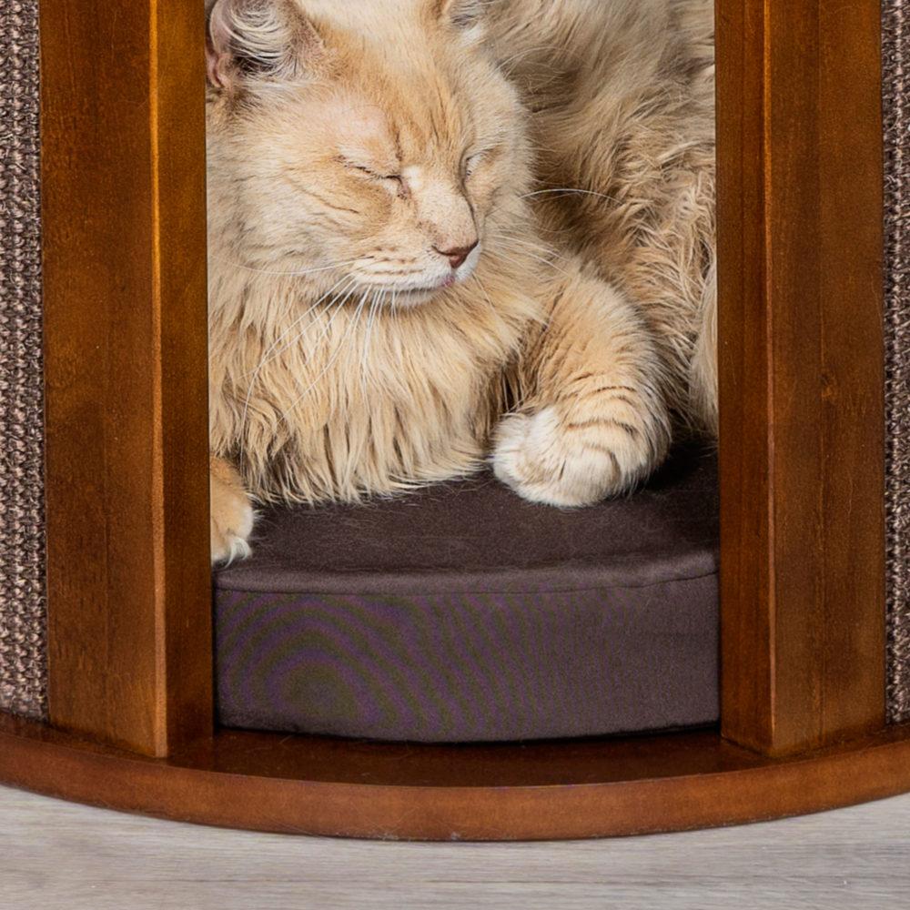 Purrtable Cat Cushion Brown