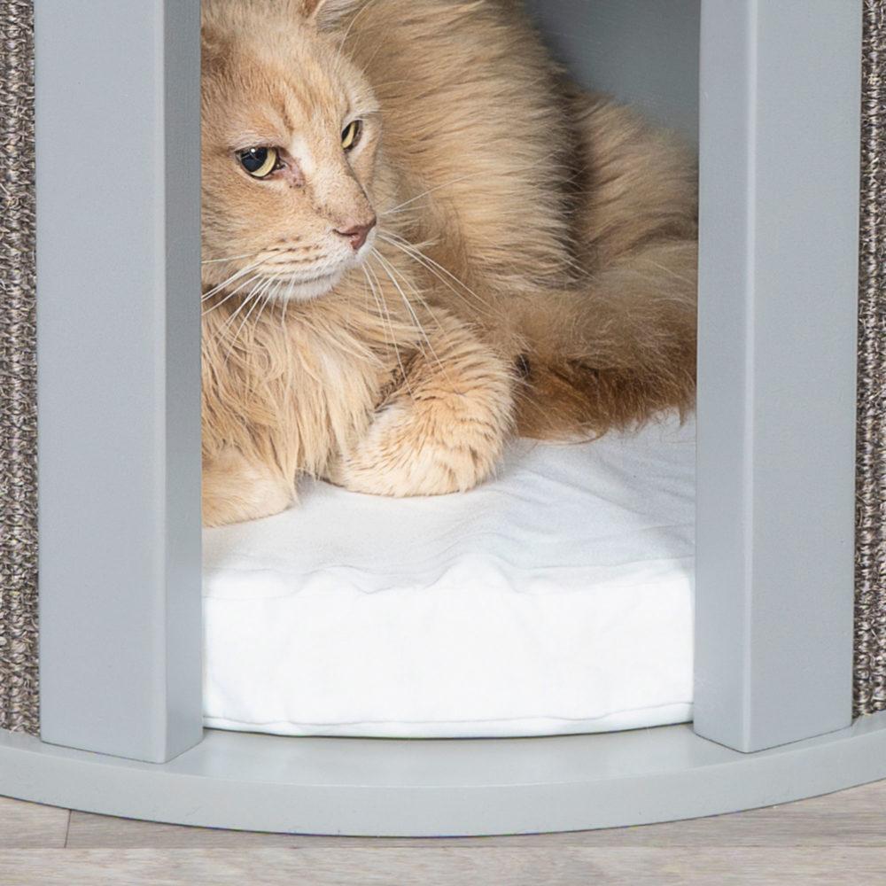 Cat sisal scratch table