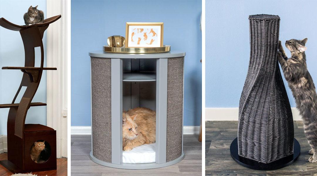 Best Modern Cat Furniture of The Refined Feline