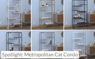 A Modern Cat Tree: The Metropolitan Cat Condo