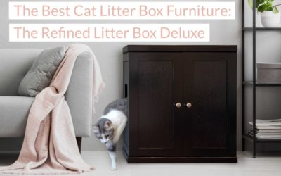 The Best in Cat Litter Box Furniture: The Refined Litter Box Deluxe